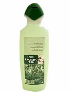 Agua Lavanda Puig Cologne Body Splash 750ml
