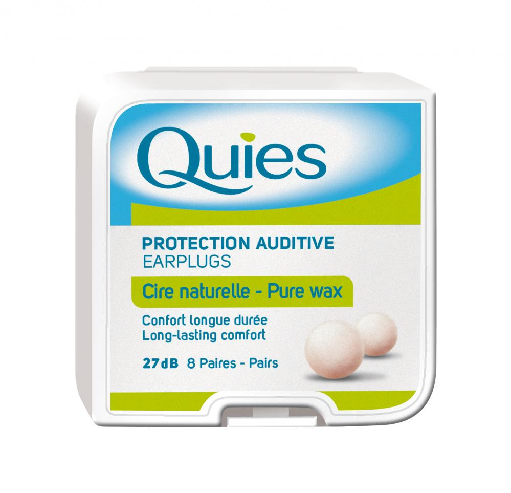 Boules Quies Wax Ear Plugs from France