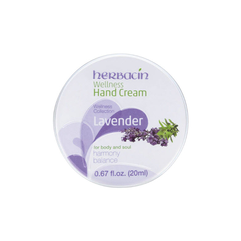 Herbacin Lavender Hand Cream in the tin 20ml