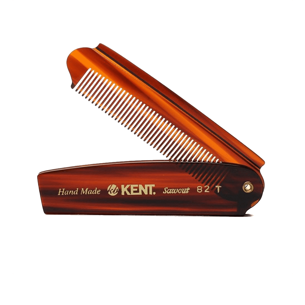 Kent Men's Large Folding Pocket Comb  82T