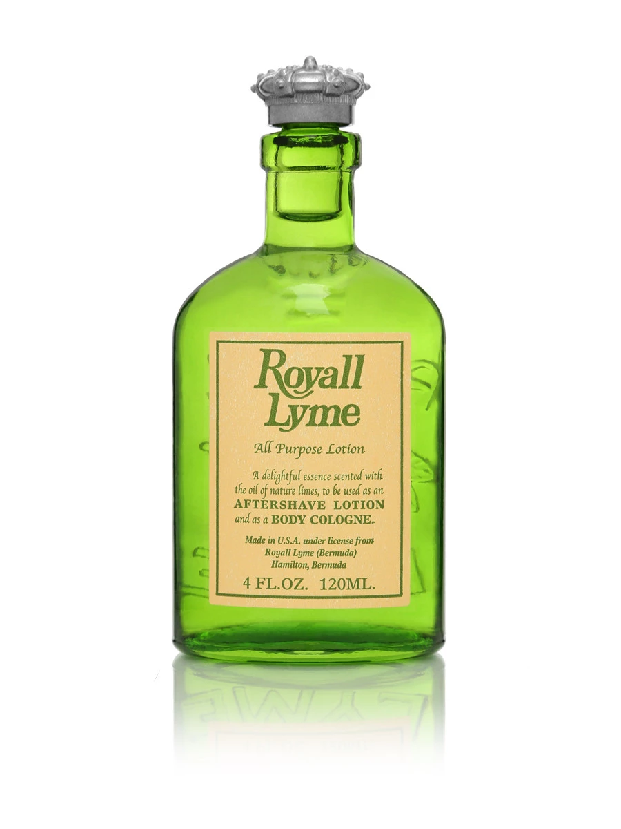 Royall Lyme Bermuda Cologne Natural Spray 4 oz./120ml
