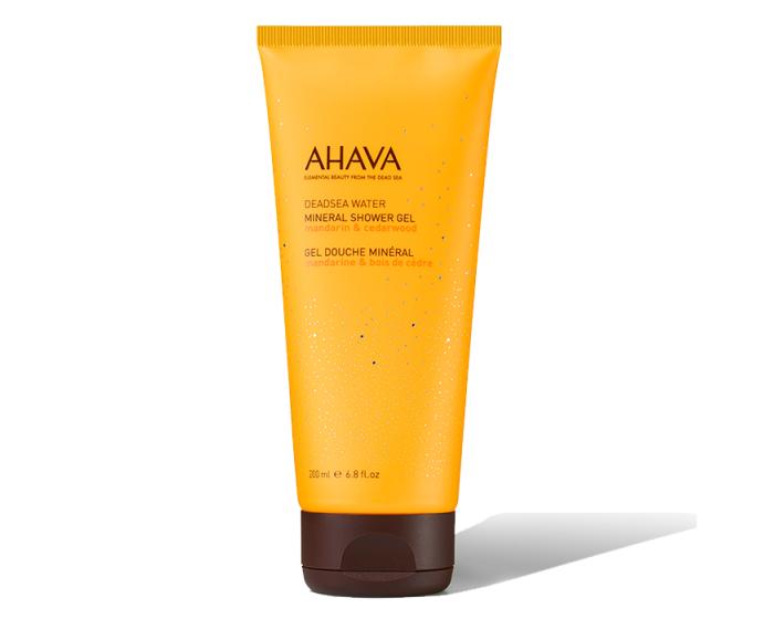 Ahava Mineral Shower Gel - Mandarin and Cedarwood 200ml