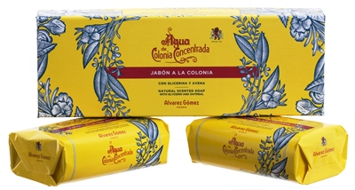 Alvarez Gomez Agua de Cologne Soap Box of 2, 125gr each