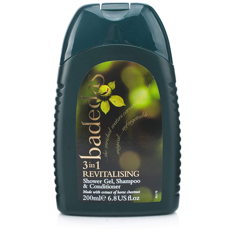 Badedas Revitalizing Shower Gel, Shampoo and Conditioner 200ml