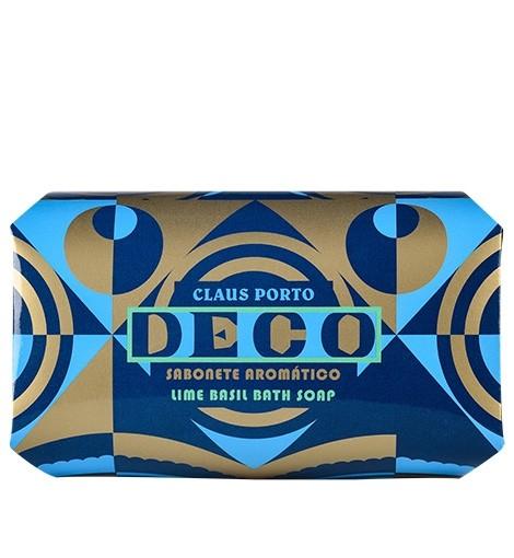 Claus Porto Lime Basil 'Deco' Soap 350gr