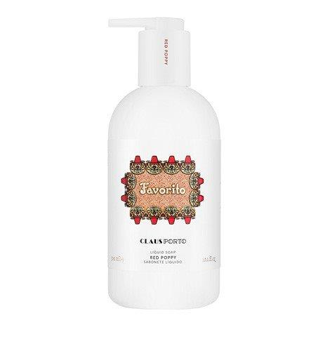 Claus Porto Liquid Soap - Favorito - Red Poppy 300ml