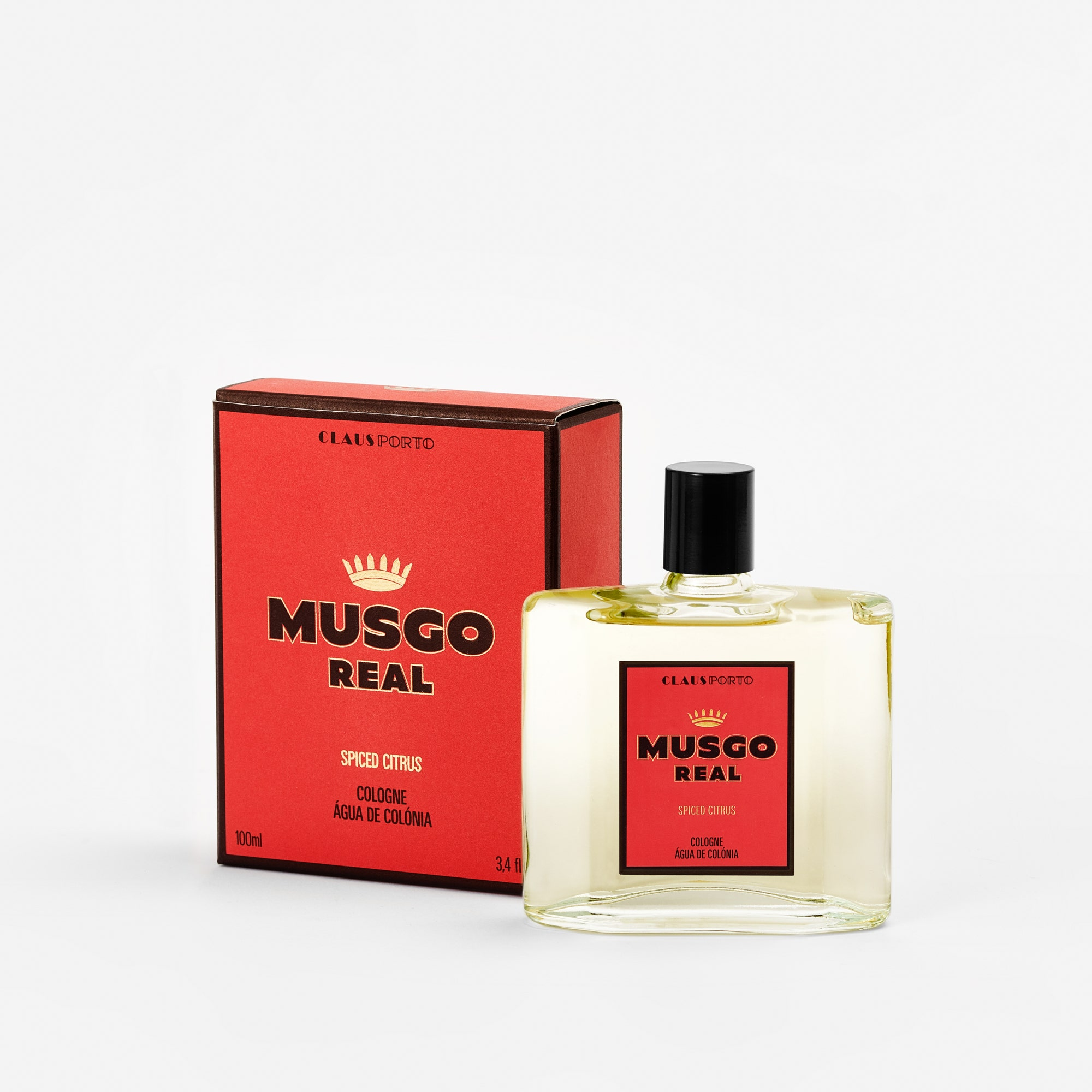Musgo Real Cologne - Spiced Citrus - 100ml