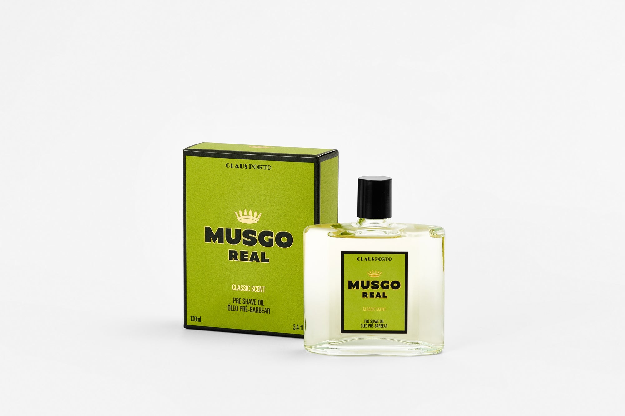 Musgo Real Pre Shave Oil - Classic Scent 100ml