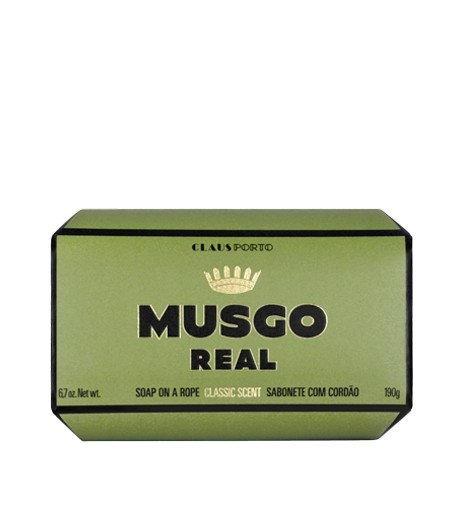 Musgo Real Soap On A Rope - Classic Scent  170g