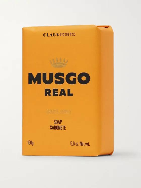 Musgo Real Soap - Orange Amber - 160g