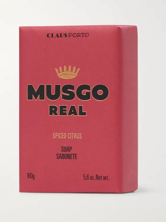 Musgo Real Soap - Spiced Citrus - 160g