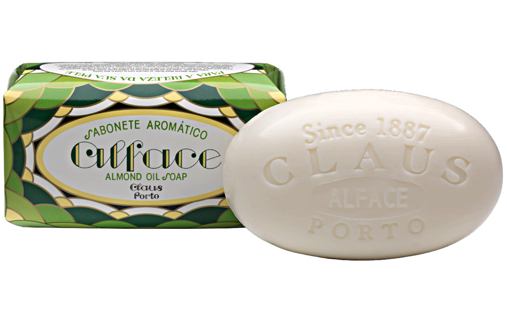 Claus Porto Almond Oil 'Alface' Soap 350g