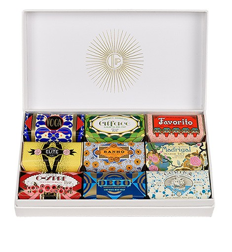 Claus Porto Soap, Gift Box of 9 Mini Soaps, 50g each