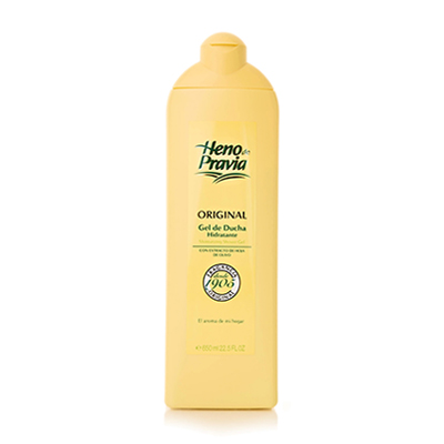 Heno de Pravia Shower & Bath Gel with Olive Oil Extract  650ml