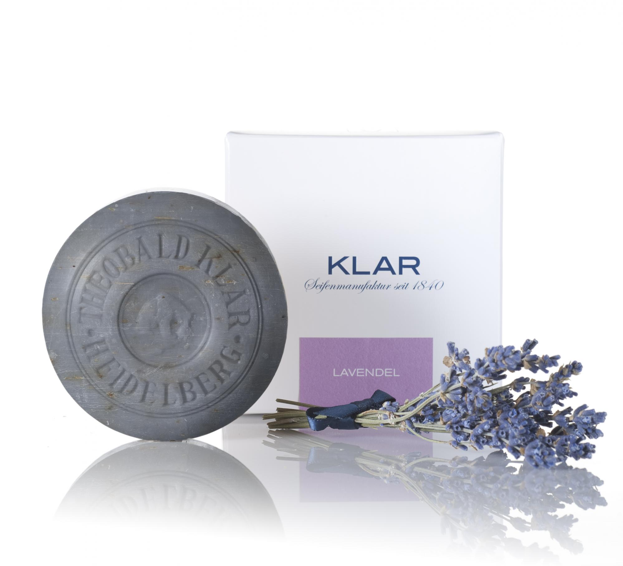 Klar Lavender Essential Oil Soap 150g
