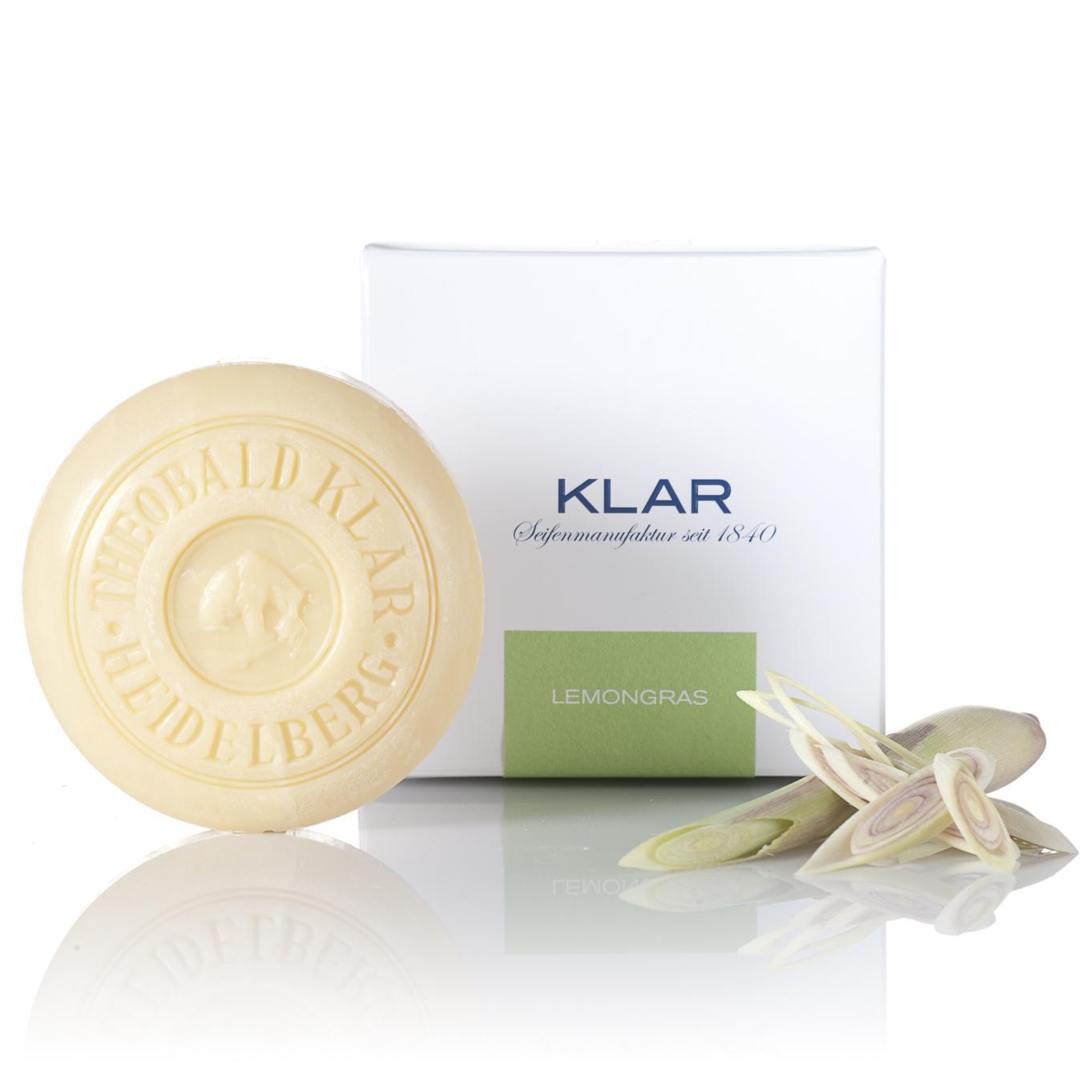 Klar Lemongrass Essential Oil Soap 150g