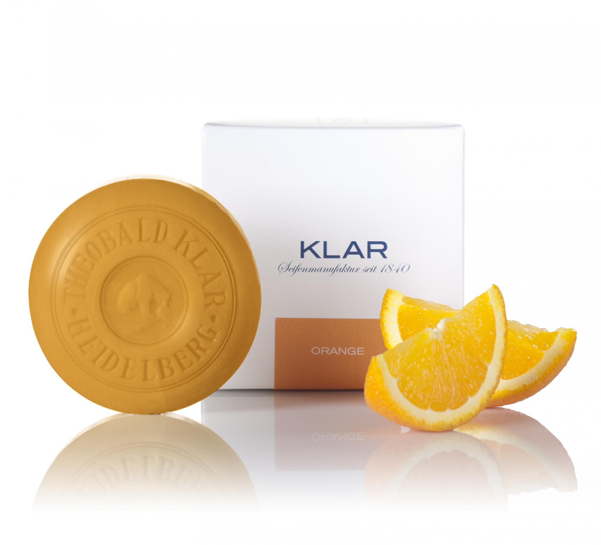Klar Orange Essential Oil Soap 150g