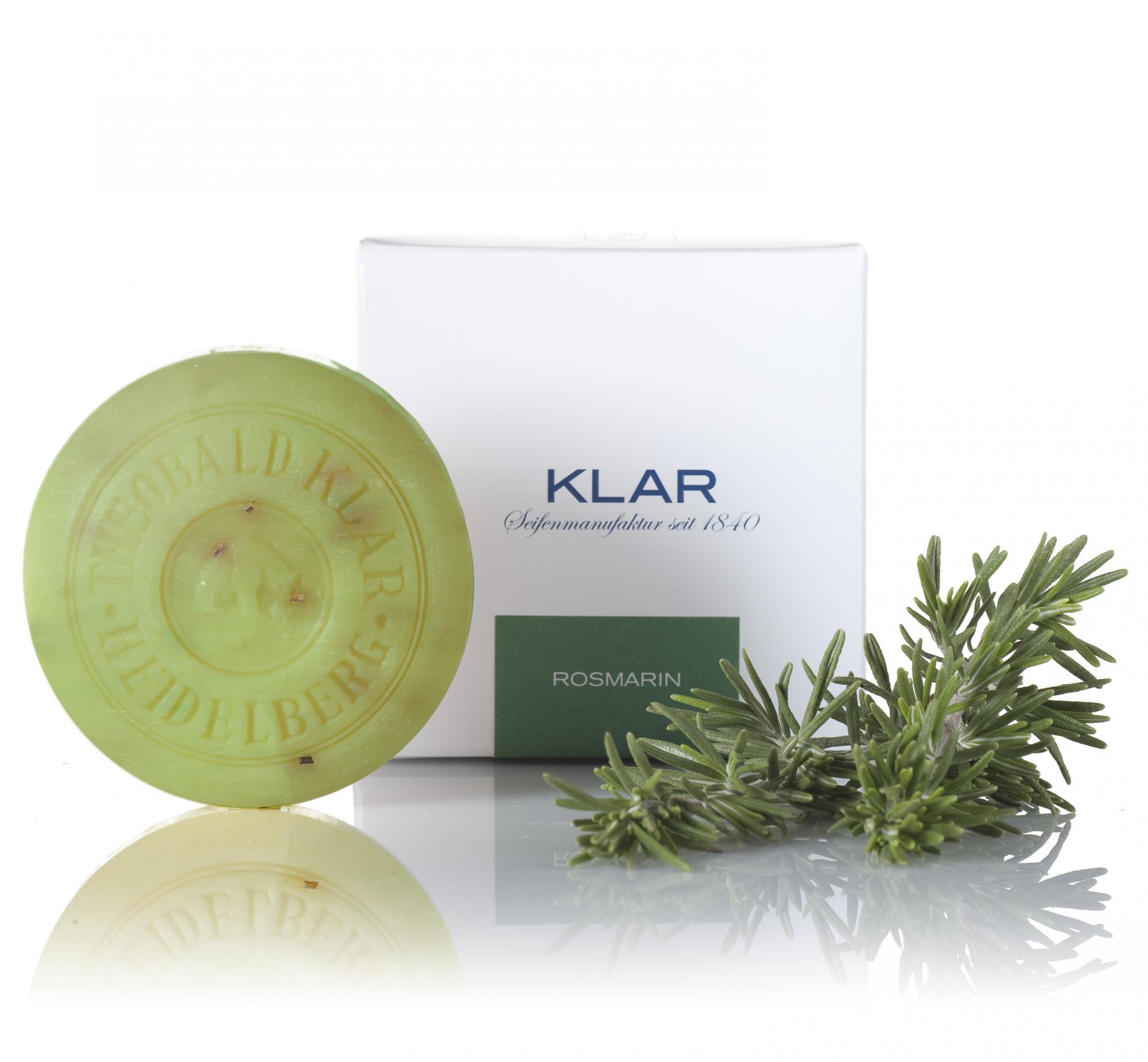 Klar Rosemary Essential Oil Soap 150g