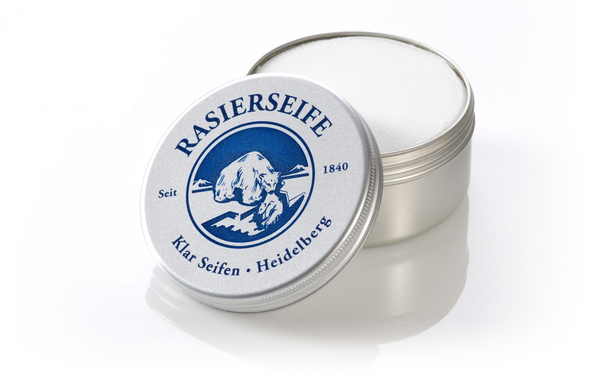 Klar Lemongrass Shave Soap 110g