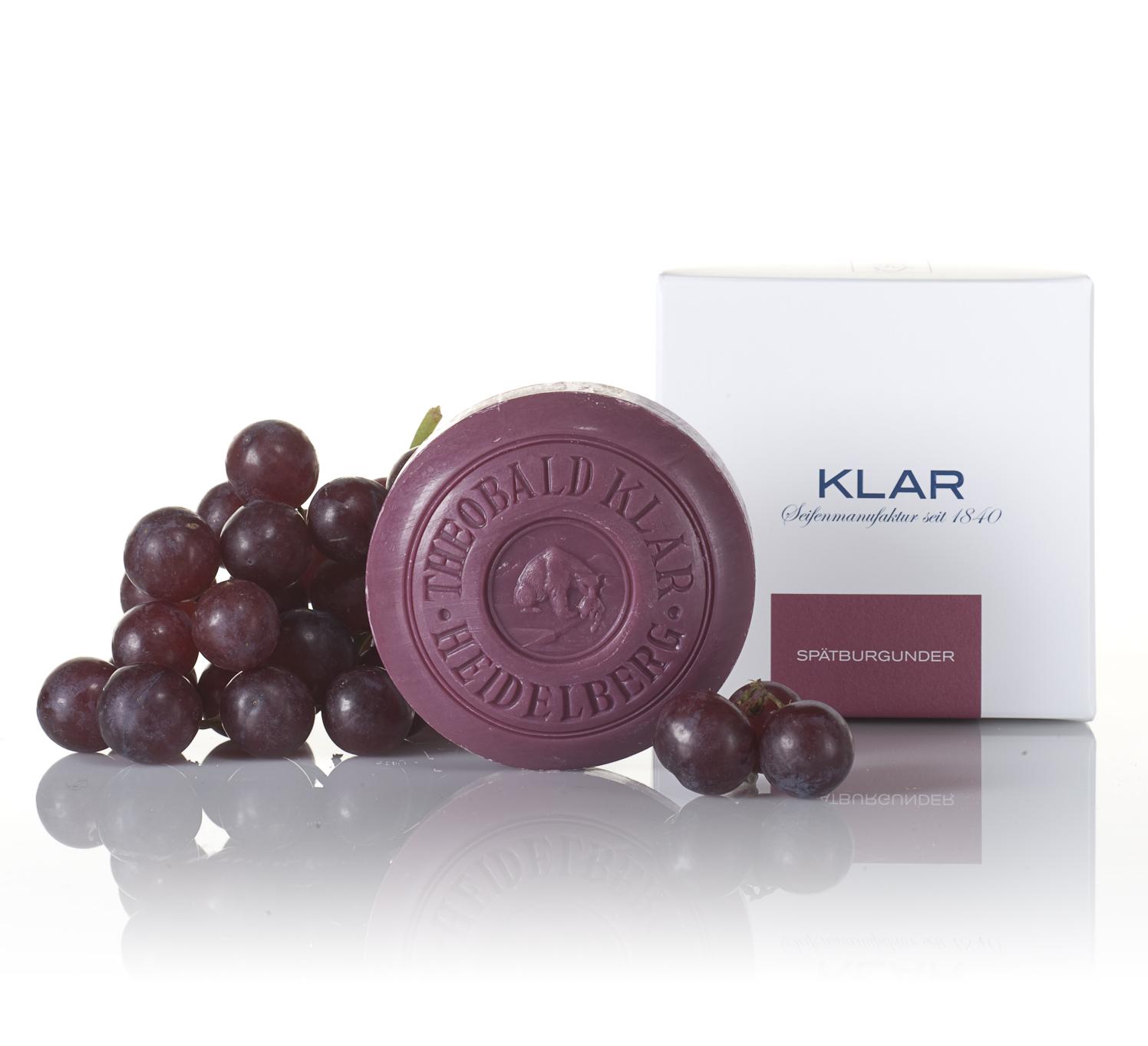 Klar Pinot Noir Wine Soap 150g