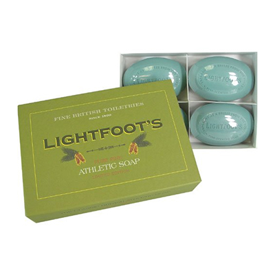 Lightfoot's Pine Soap, Gift box of Four Made in the USA   164gr each