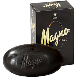 Magno Black Glycerin Soap from Spain 125g :  glycerin soap spain gifts