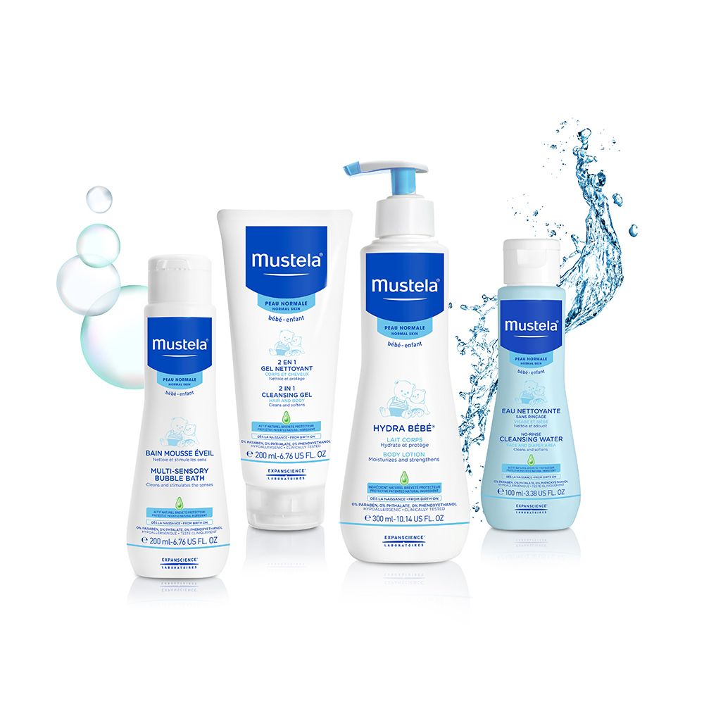 Mustela Bathtime Essentials Set