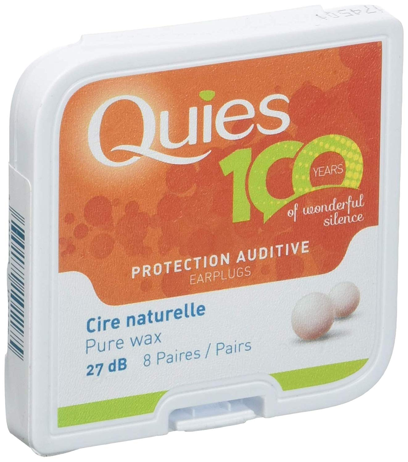 Quies Wax Ear Plugs from France $7.50 per box