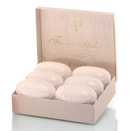 Rance Fiori d'Italia Soap, Box of 6, 175gr