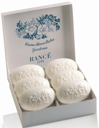 Rance Gardenia Soap, Box of Six 100gr