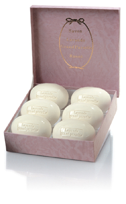 Rance Lavande Grand Paradis Lavender Soap Box of Six  220gr