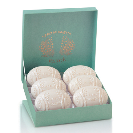 Rance Lily of the Valley Soap, Box of Six 75
