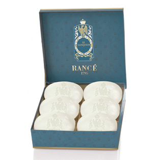 Rance Le Vainqueur Napoleon's Fine Soap Box of Six  100gr