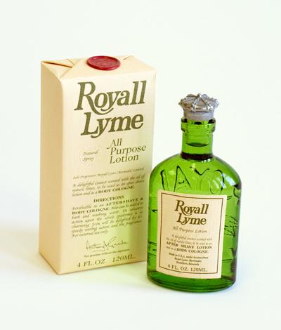 Royall Lyme Bermuda Cologne Natural Spray 4 oz./120ml