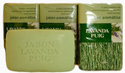 Agua Lavanda Puig Aromatic Soap 3 pack, 125g ea. - small image