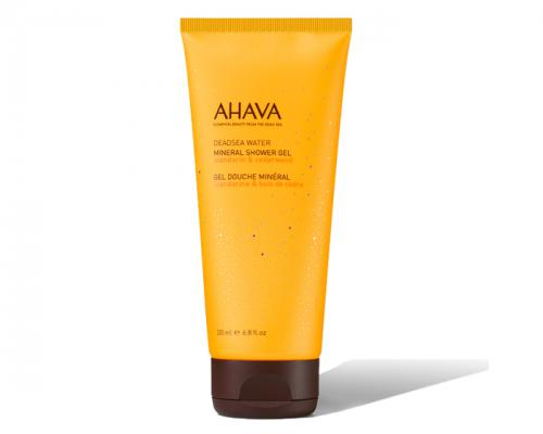 Ahava Mineral Shower Gel - Mandarin and Cedarwood 200ml