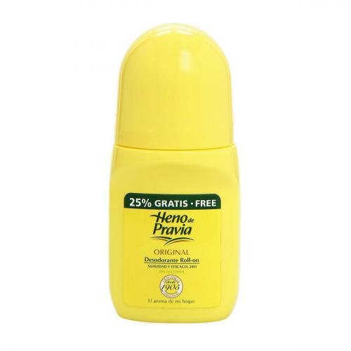 Heno de Pravia Roll On Deodorant 50ml + 12.5 ml