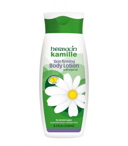 Herbacin Kamille Skin Firming Body Lotion with Argan Oil  250ml