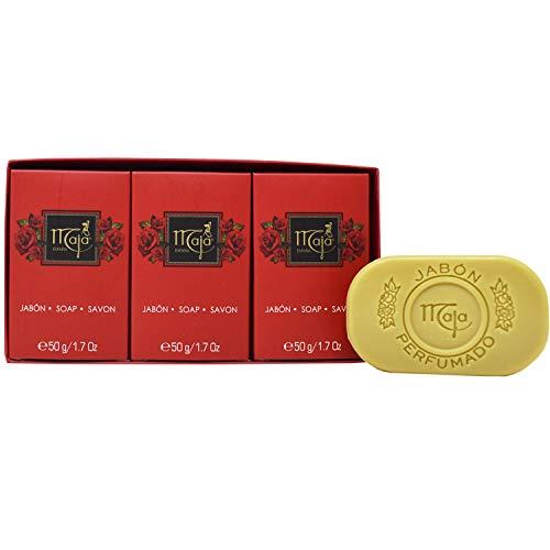 Maja Soap Box of 3 - Oval Hand Size .50g each