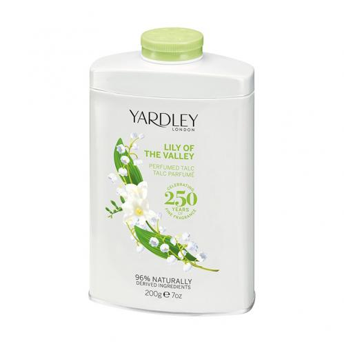 Yardley Lily of the Valley Talcum Powder 200g