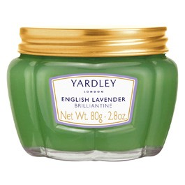 Yardley English Lavender Brilliantine Hair Pomade 80g  Made in the UK